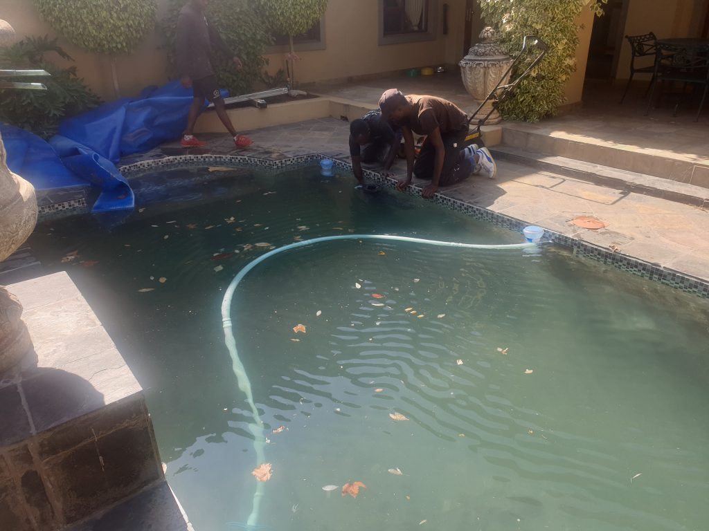 swimming pool problems