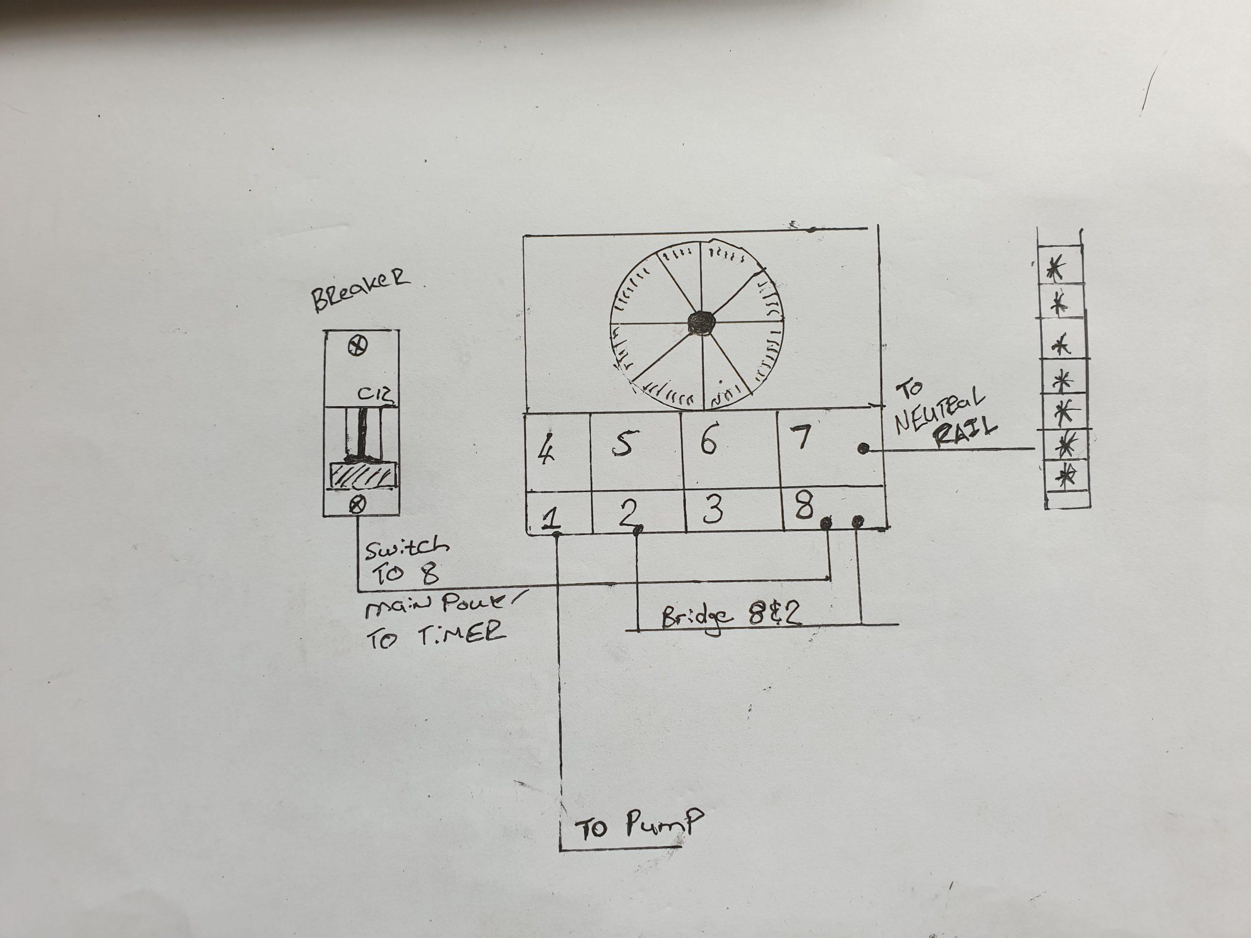 tonesto ts18 timer wiring