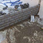 brick wall in pool5